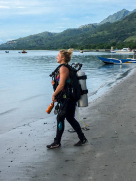 Laura, the Dive Manager | Photo: Astrid van der Does